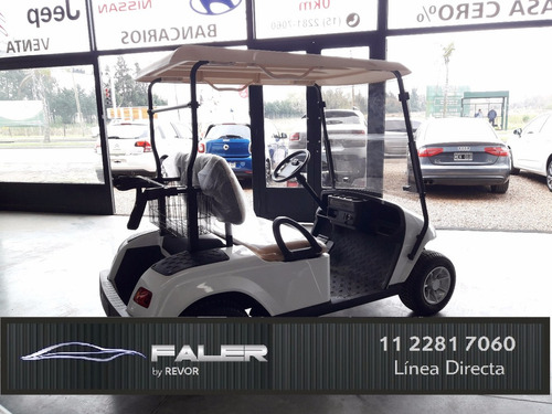 carro golf eléctrico bamaqh 0km baterías trojan financiación