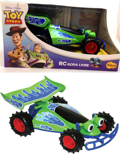 carro grande de brinquedo toy story disney original yellow
