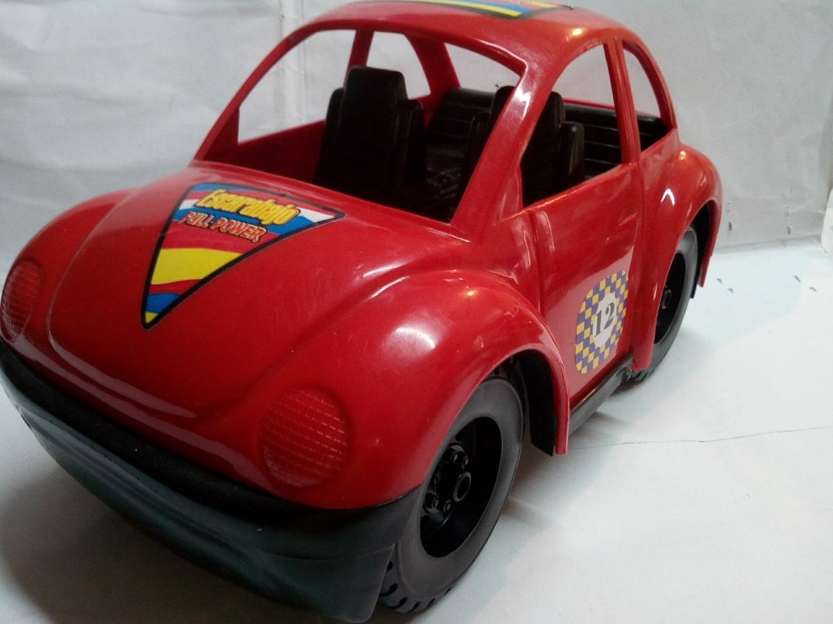 Carro Grande Volkswagen Escarabajo Ninos Juguete 22 Cm Nuevo Bs