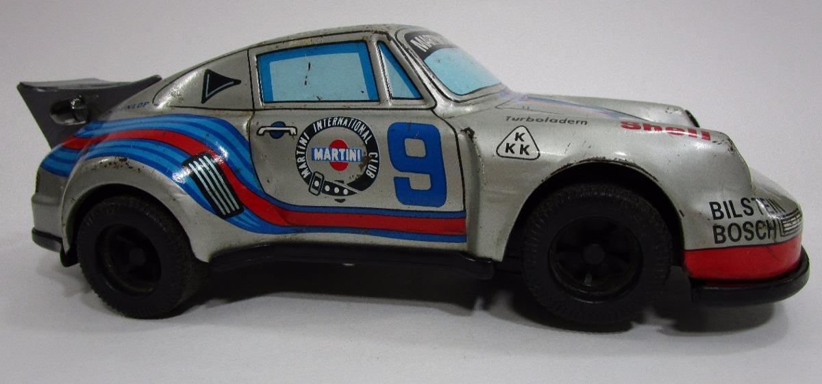 Carro Hojalata Juguete Antiguo Porsche Escala 1 24 Coleccion
