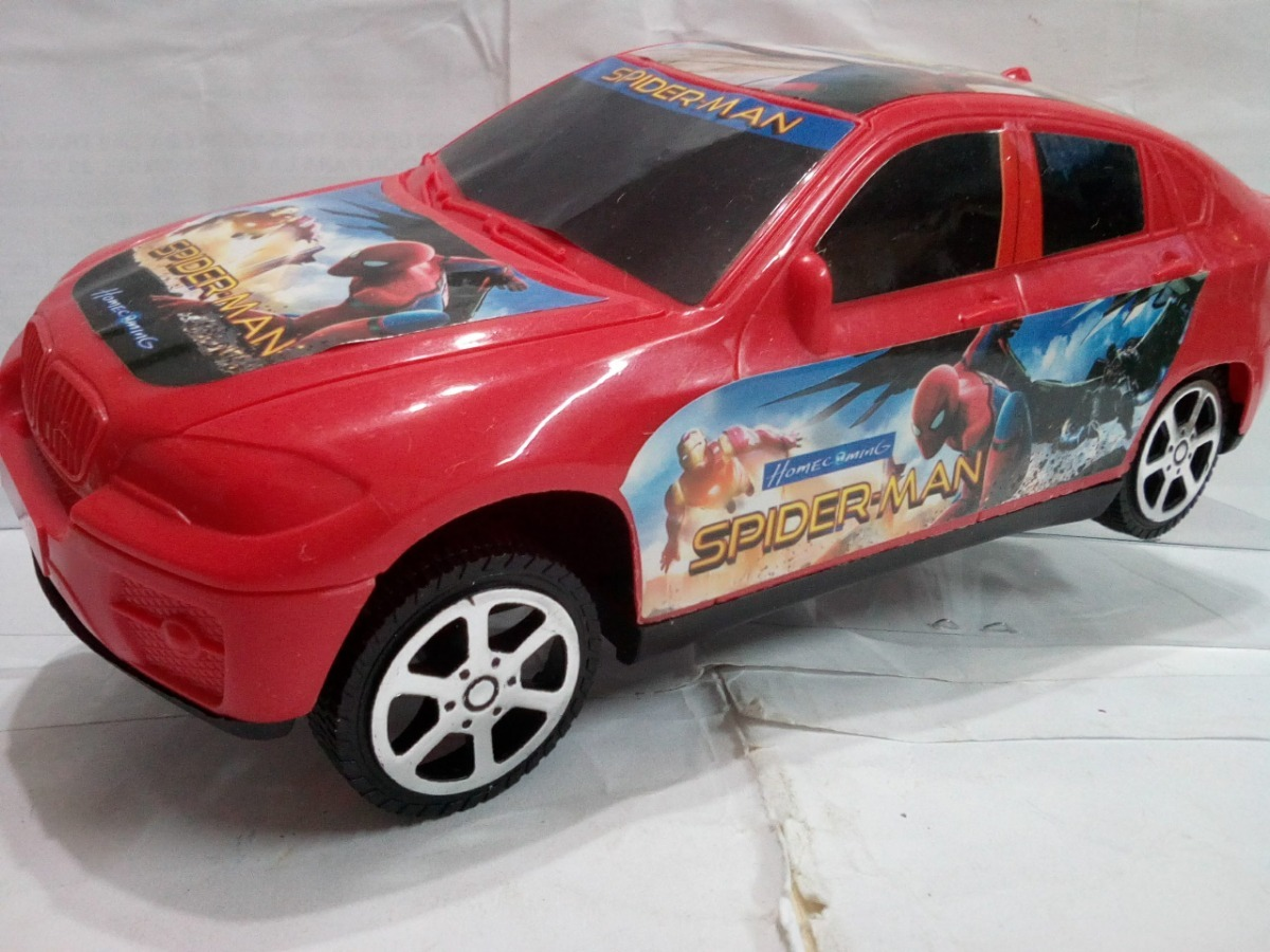 Carro Hombre Arana Juguete Bmw Nino Oferta Regalo Spiderman Bs