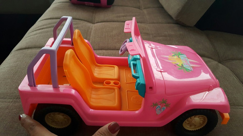 carro jeep deportivo de barbie