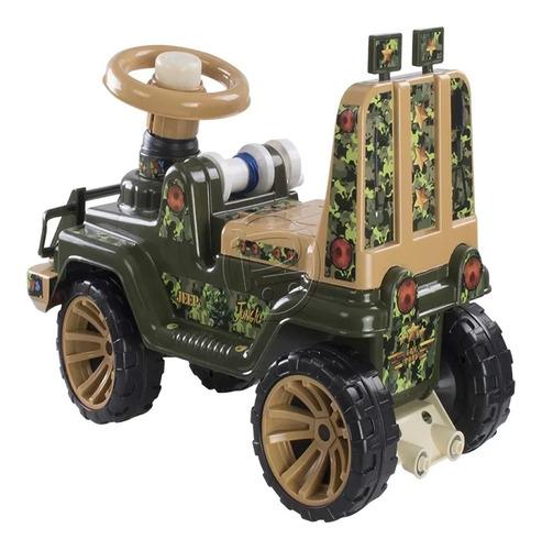 carro jeep montable infantil jungla boy toys niño luces soni