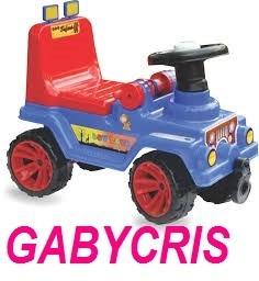 carro jeep montable juguete niño paseador caminador infantil