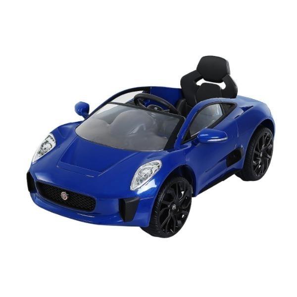 Carro Juguete Electrico Jaguar Azul Prinsel Bebes Comodos Be