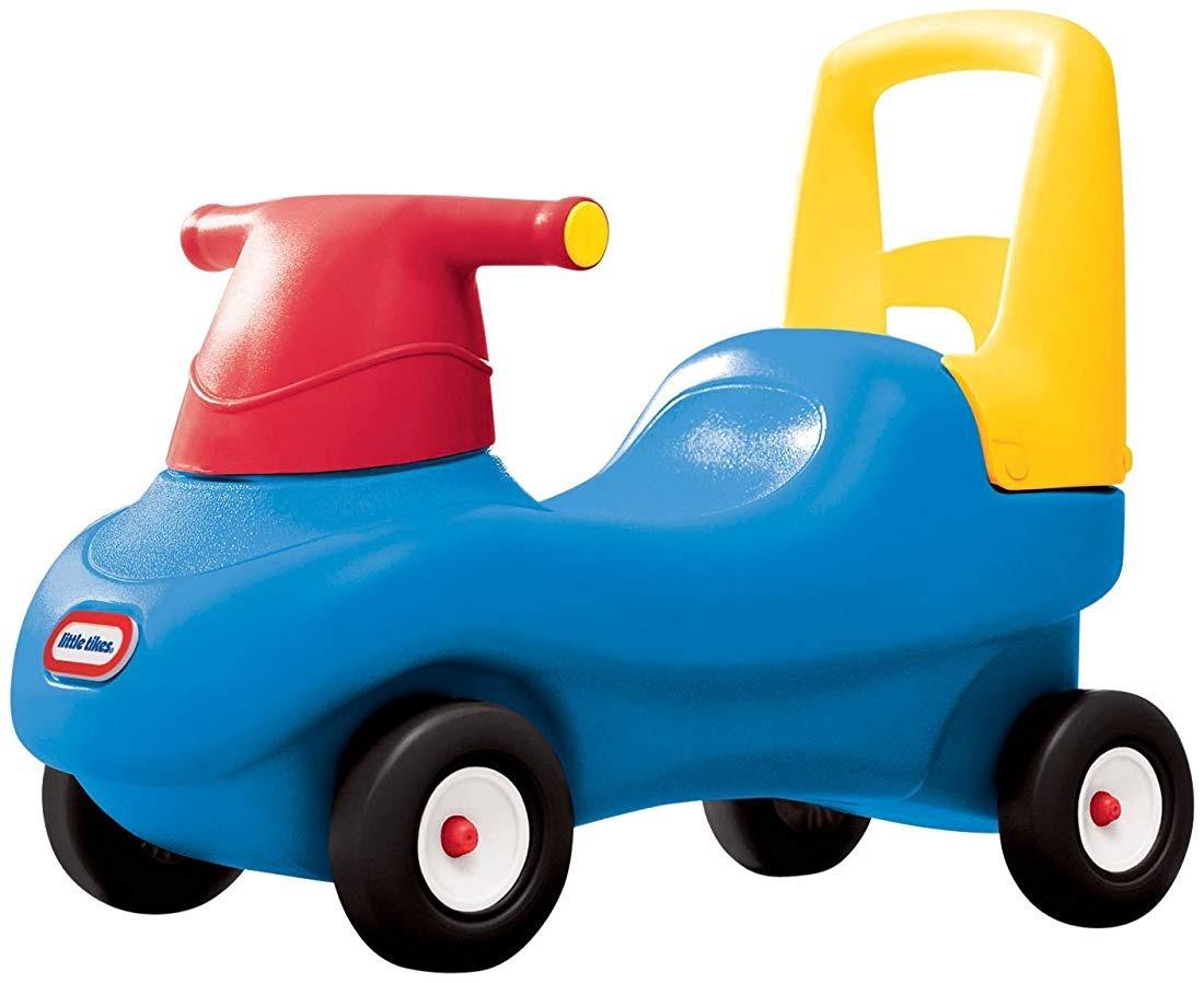 Carro Juguete Para Montar Y Andador En Uno Azul Rojo Amar