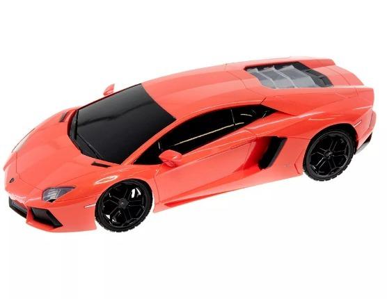 Carro Lamborghini Aventador Color Rojo Coleccion Juguete Pp