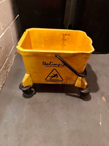 carro limpieza balde prensa mopa