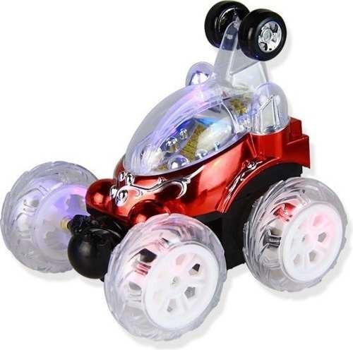 carro loco control remoto rc rota 360º luces recargable