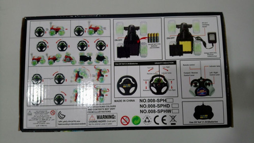 carro loco juguete control remoto original