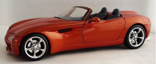 carro maisto dodge concept vehicle escala 1/24