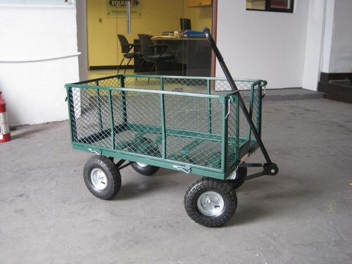 carro malla verde equus