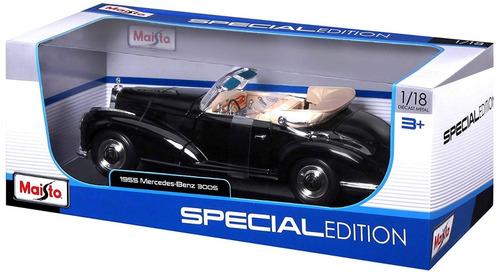 carro mercedes benz 1955 a escala 1:18