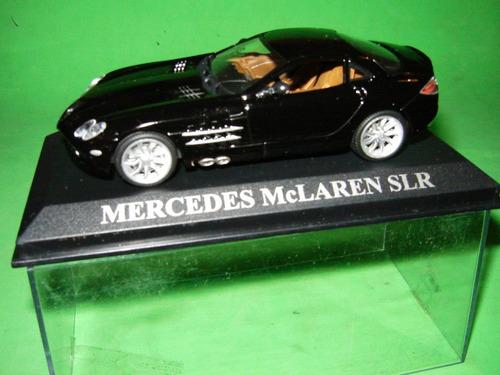 carro miniatur modelo coleção mercedes mclaren slr  1/43