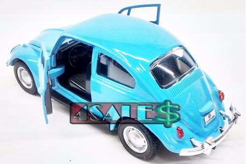 carro miniatura fusca escala 1:32 cores policia surf  avulso