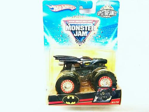 carro monster jam batman hotwheels