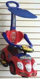 carro montable bebe paseador posapies guía megacar 3en1