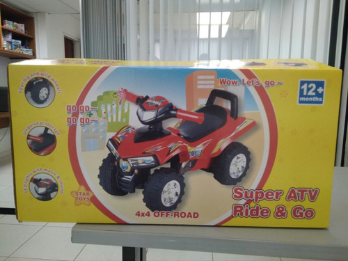 carro montable con sonido y luces