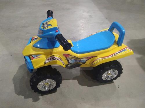 carro montable con sonido y luces