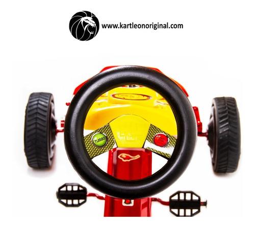 carro montable de pedales rojo buen fin promoción bici reyes