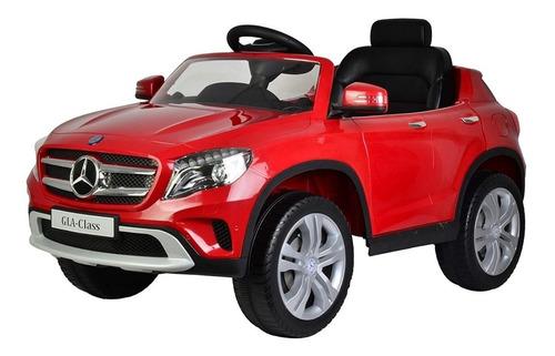 carro montable eléctrico 12 v mercedes edad 2 a 5 años rojo