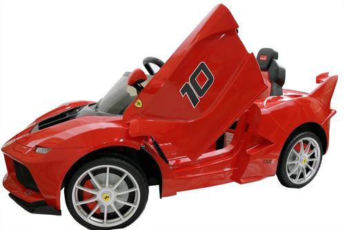 carro montable eléctrico ferrari fxxk
