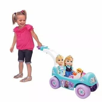 carro montable frozen  musical