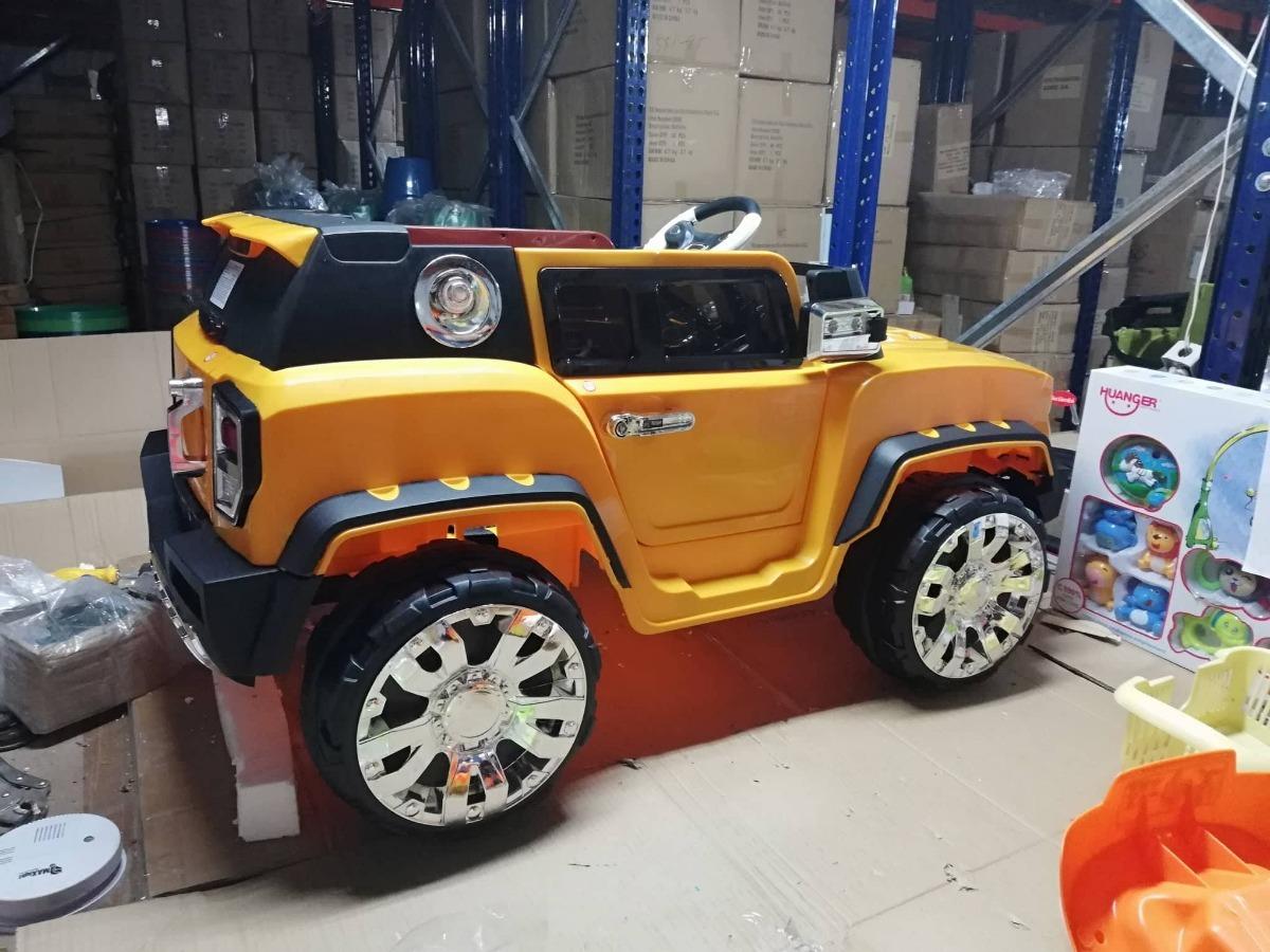 Carro Montable Juguete Bateria Electrico Bebe Control Remoto