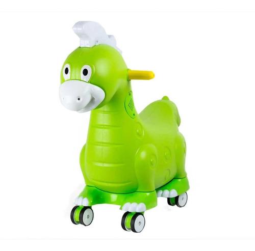 carro montable para niños dinosaurio con luz y sonido