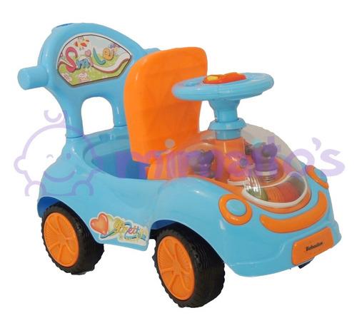 carro montable paseador con guía luces sonidos bebes y niños