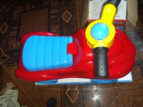 carro montable raider para niñas y niños