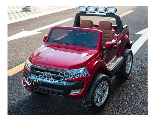 carro moto recargable electrico montable ford ranger 5 motor