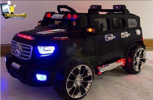 carro moto recargables electrico montables 1a7 años usb y sd