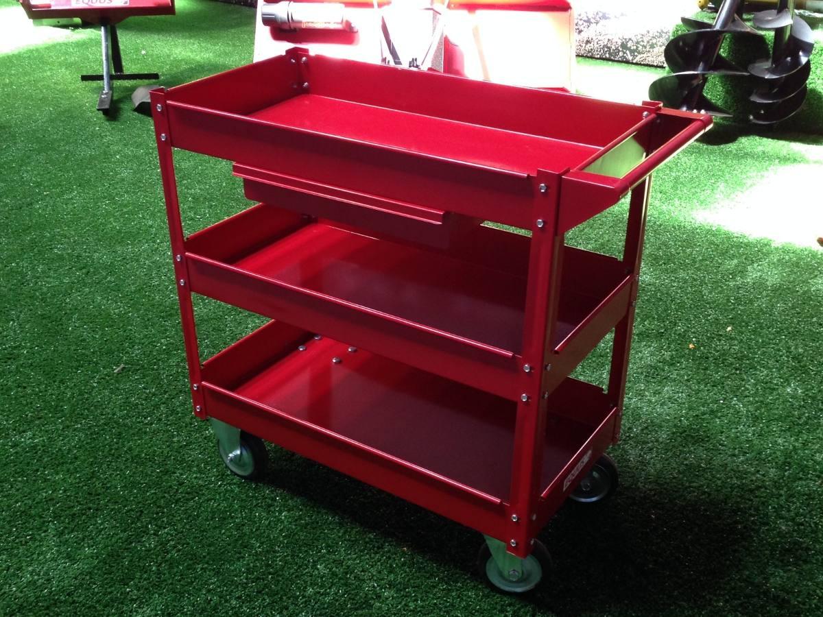 Carro mueble para taller mecanico equus herramientas 4 - Carro herramientas taller ...