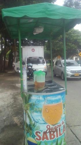 carro multifuncional utilizalo para vender fritos,jugos etc