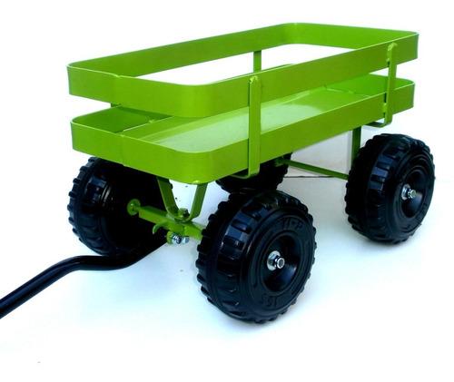 carro multiuso para jardineria leña juguetes wagon carrito