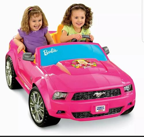 carro mustang barbie