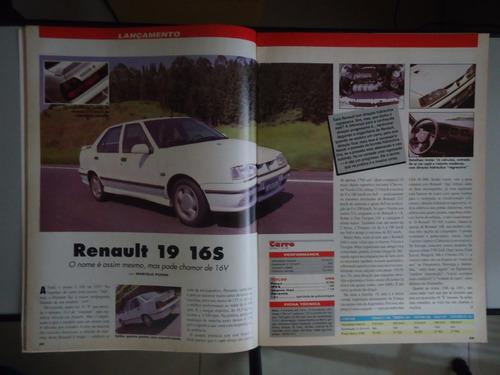 carro nº6 uno turbo audi 80 renault 16v bmw mercedes