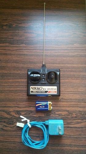 carro nikko off road a control remoto con cargador y batería