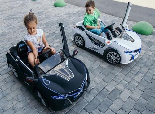 carro niños bmw ,control,mp3, suspension,puertas ,2 motor