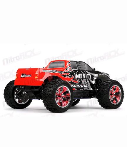 carro nitro rc 1/10 4wd infinity entrega inmediata