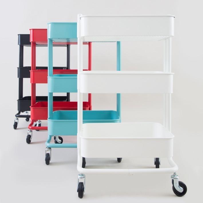 Carro Organizador Modelo Ikea Nórdico Varios Colores