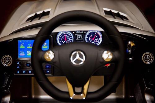 carro original mercedez benz pantalla video control remoto