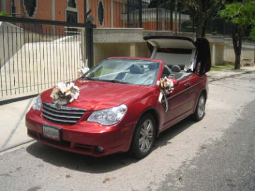 carro para bodas,