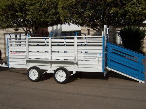 carro para cerdo 4.50x1.60 x1.10  balancin sin gomas tpea