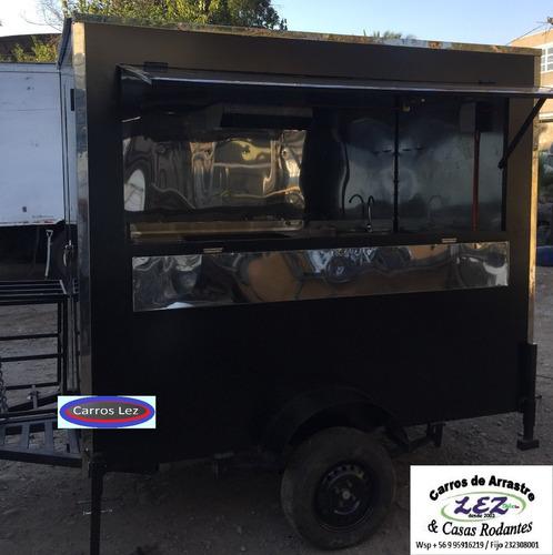 carro para comida rapida full equipado