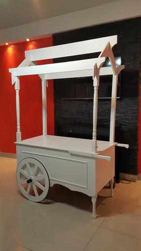 carro para golosinas - candy bar bodas/cumpleaños - venta