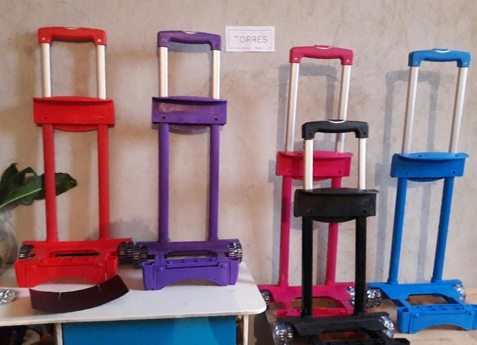 super popular 40a15 9fda6 Carro Para Mochila Varios Colores $199 C/u Incluye Envío.