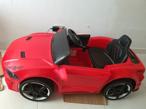 carro para niños 1-5 añ manejable manual y a control remoto