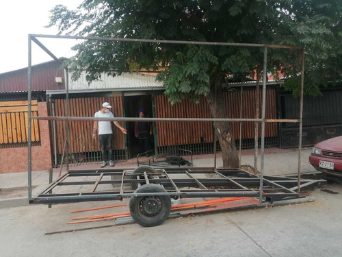 carro para proyecto con piso.